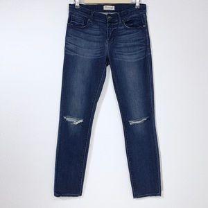 Madewell Ripped Knee Skinny Jean